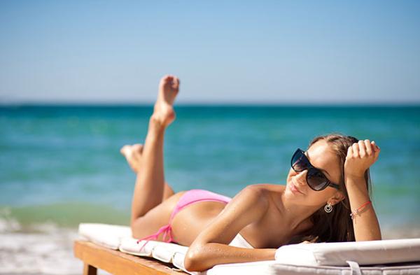Идеальные позы для на пляже