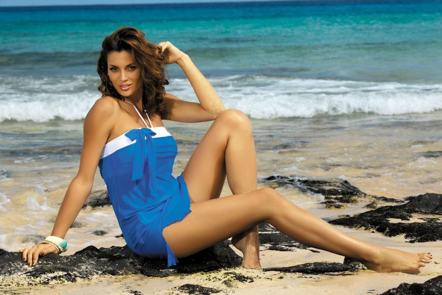 Фото девушки фитнес на пляже 14 фотография