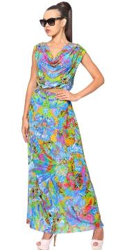 Платье пляжное Lora Grig WQ 041707 LG Theodora - multicolor