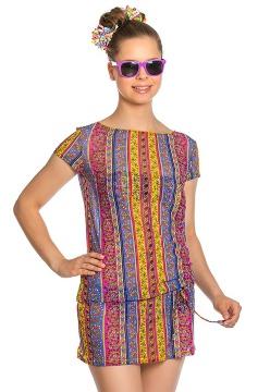 Платье пляжное для девочек-подростков Arina YQ 101706 Paprika