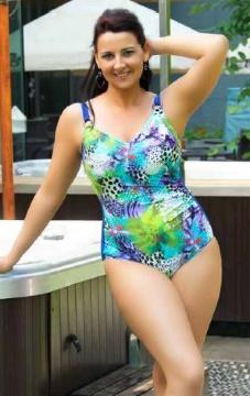 Бирюзовый купальник Bahama 101-580-641601 BA14 E